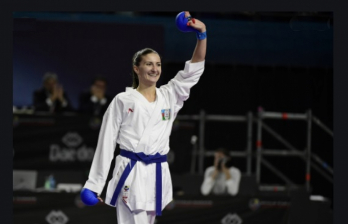 Azerbaijani karate fighter crowned European champion