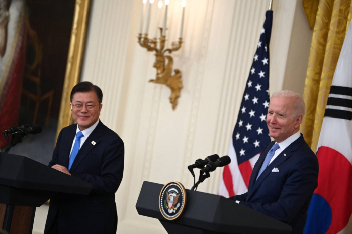 Biden, South Korea's Moon interested in engaging North Korea in dialogue