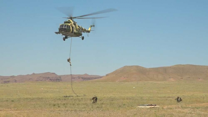 Nakhchivan garrison troops continue command-staff exercises -   VIDEO
