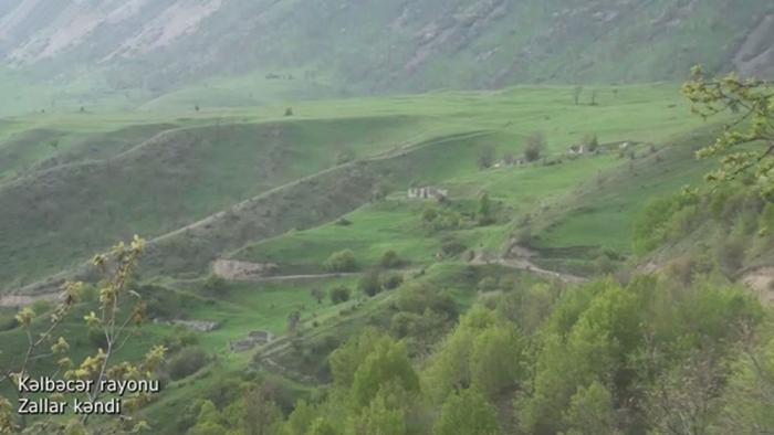 Zallar village of Azerbaijan's Kalbajar region –  VIDEO
