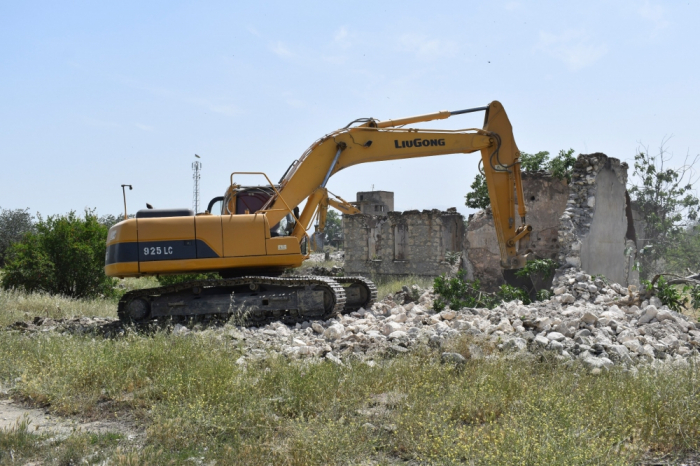 Azerbaijan launches reconstruction work in liberated Aghdam -  PHOTOS