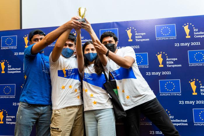 Delegation of EU to Azerbaijan & YEAs organize Youth Intellectual Competition