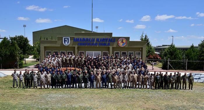 "Azerbaijani servicemen attending ""Anatolian Phoenix-2021"" int'l exercises"