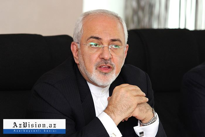 Iranian FM arrives in Azerbaijan on official visit