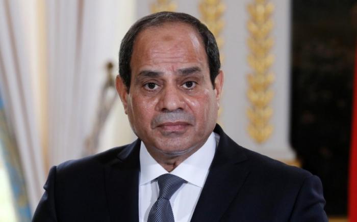 Egyptian president sends letter to Azerbaijani president
