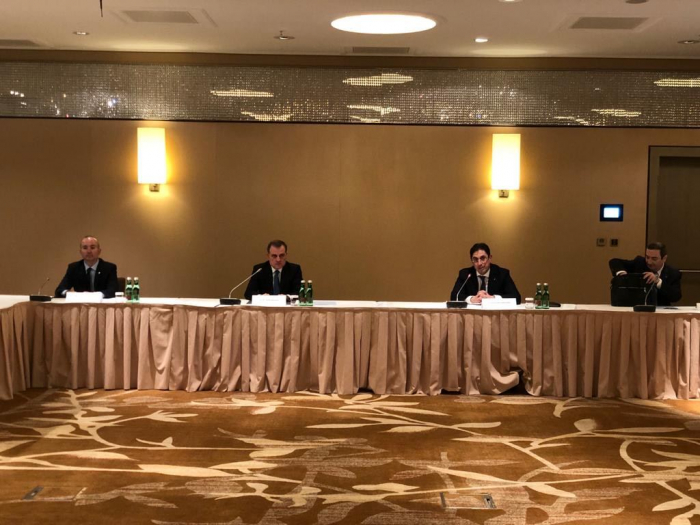 Azerbaijani FM meets representatives of Austrian-Azerbaijani Chamber of Commerce & Cooperation Council
