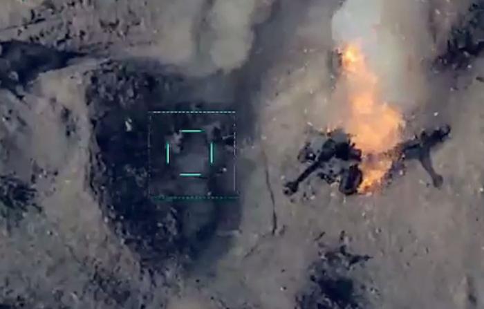 Azerbaijan MoD shares new   video   from 2nd Nagorno-Karabakh war