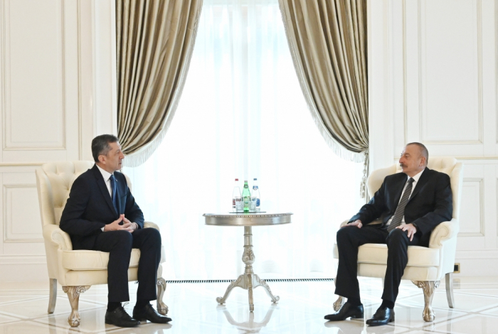 President Ilham Aliyev receives Turkish minister of national education - UPDATED