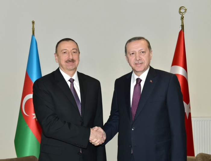 Turkish president congratulates Azerbaijani counterpart