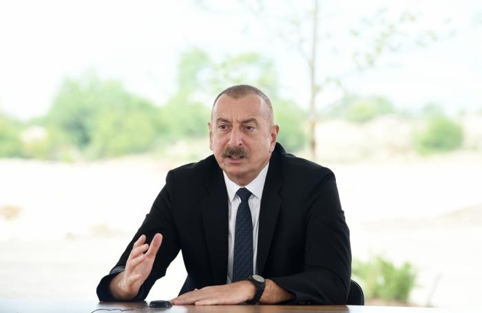 """""""Görsək ki, təhlükə var, düşməni dərhal məhv edəcəyik"""" -    Prezident"""
