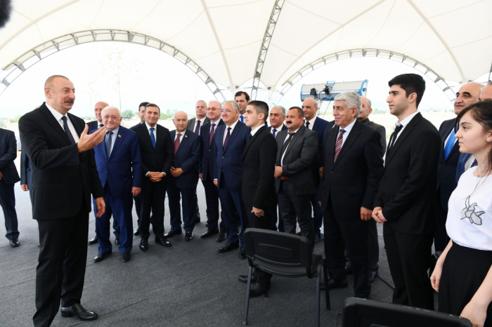 """""""Elə bir Ağdam quracağıq ki, bütün dünyaya örnək olacaq"""" -    Prezident"""