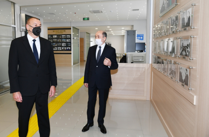 Suraxanı Məhkəməsinin yeni binası istifadəyə verilib -  YENİLƏNİB (FOTOLAR)