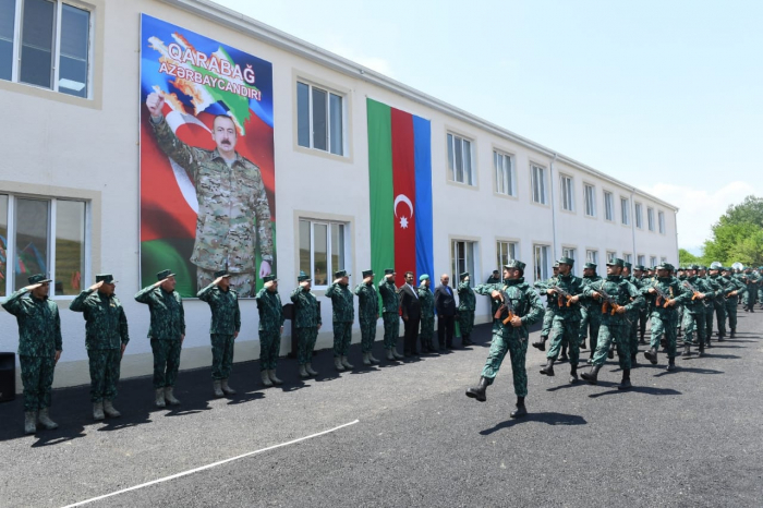 Azerbaijani State Border Service opens new military unit in liberated Zangilan