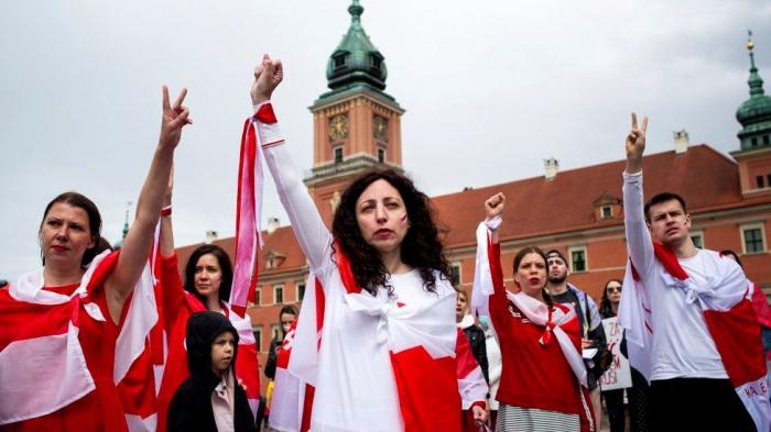 Belarus: Hundreds join global solidarity protests
