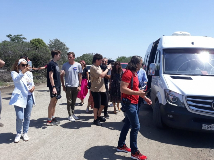 Visit of foreign bloggers to Azerbaijan