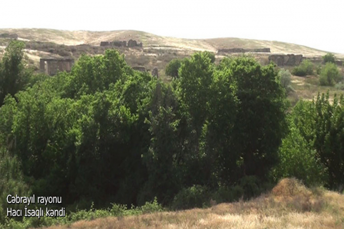 New   video   from Jabrayil district shared by Azerbaijan MoD
