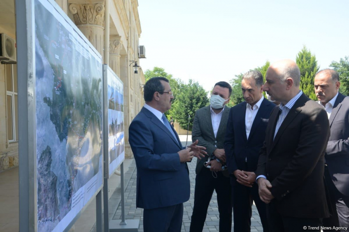 Azerbaijani, Turkish ministers review construction project of Ahmadbayli-Horadiz-Minjivan-Agband highway