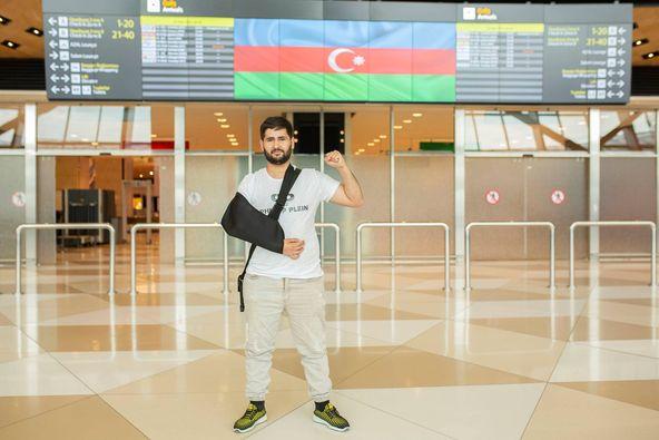 Azerbaijan sends 7 more war veterans to Turkey for treatment