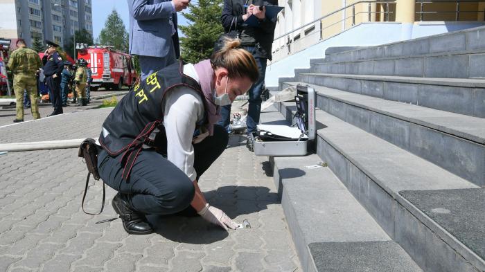 Kazan məktəbində bomba həyəcanı yaşandı