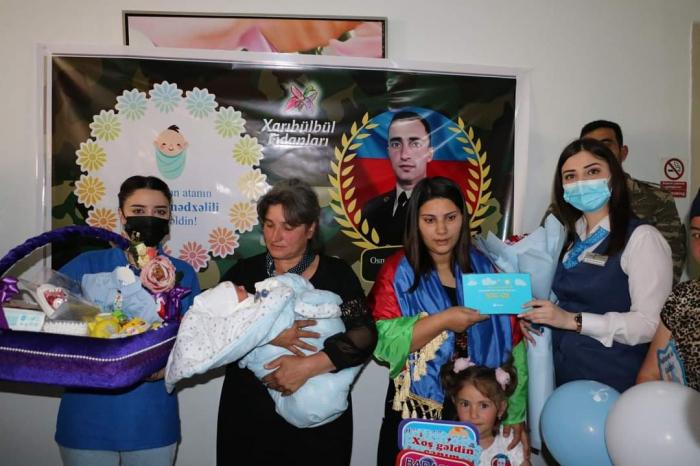 «YAŞAT»:des comptes bancaires ouverts pour les bébés de 3 autres martyrs azerbaïdjanais