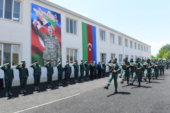 Zəngilanda DSX-nin daha bir hərbi hissəsi fəaliyyətə başladı -  FOTO