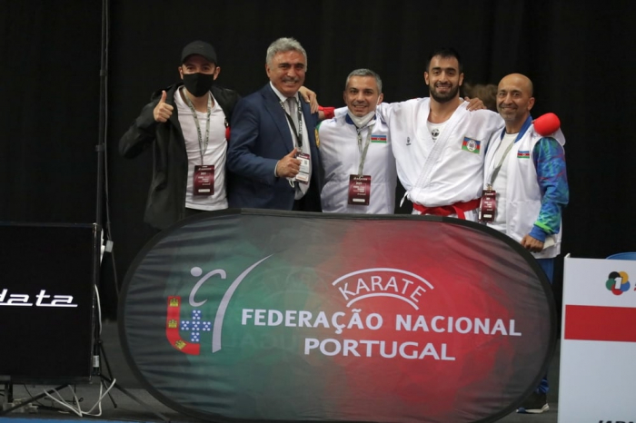 Azerbaijani karate fighters claim two medals at Lisbon tournament