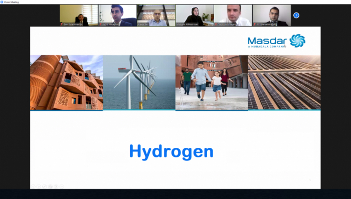 Azerbaijani Energy Ministry and Masdar hold joint workshop on hydrogen production