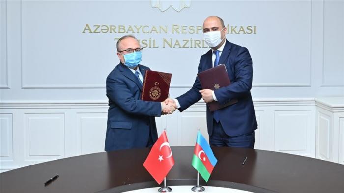 Azerbaijan, Turkey ink co-op protocol in education field