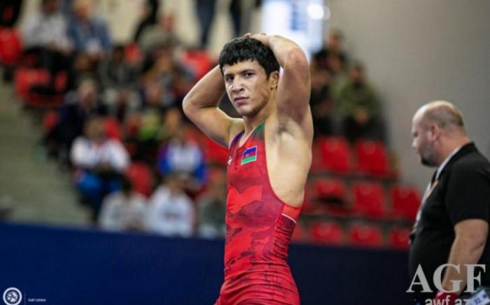 Azerbaijani wrestler becomes European champion