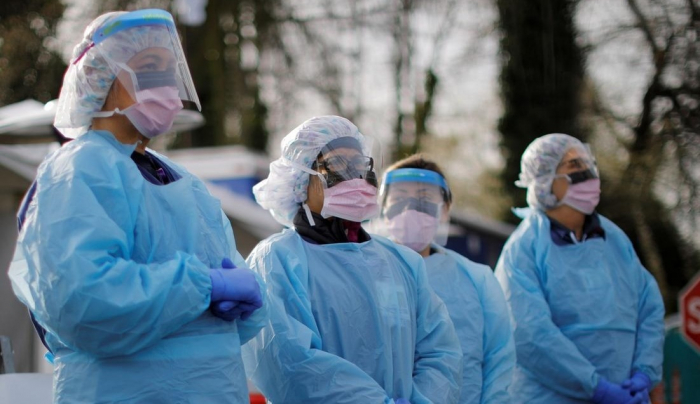 At least 115,000 healthcare workers died in pandemic, WHO says
