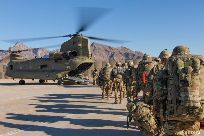 US pullout from Afghanistan at least 16% complete, Pentagon says