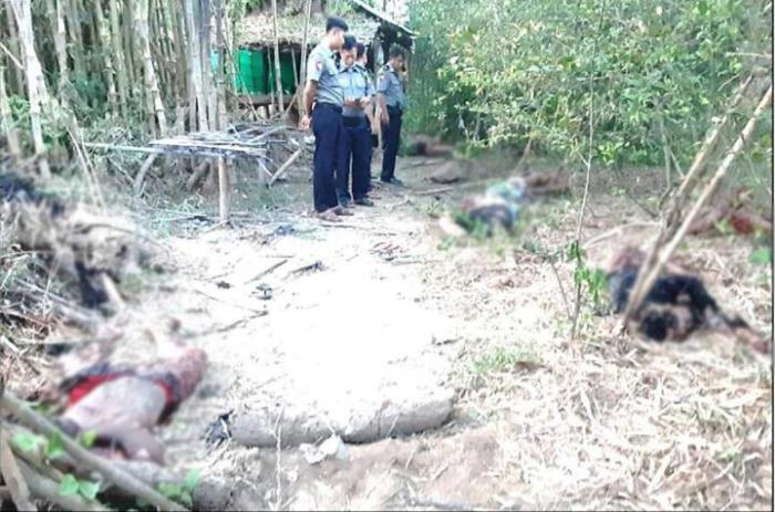 Myanmada partlayıcı qurğu hazırlayan deputat öldü