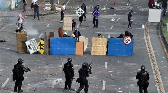 المجتمع الدولي يدين القمع في كولومبيا