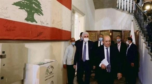 لودريان يزور لبنان في محاولة جديدة للضغط من أجل تشكيل حكومة