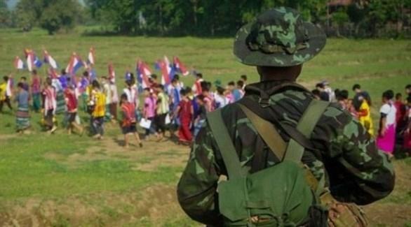جيش ميانمار يحارب معارضين للانقلاب شمال البلاد
