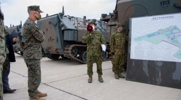 اليابان وأمريكا وفرنسا تواصل تدريباتها العسكرية