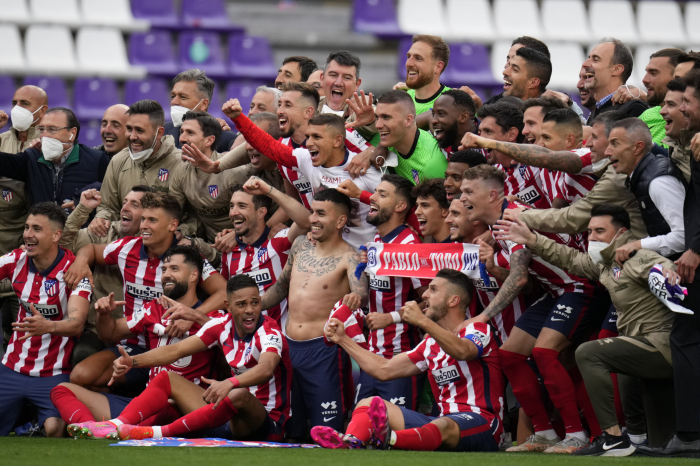 Atletico Madrid beat rivals Real Madrid to win first La Liga title since 2014