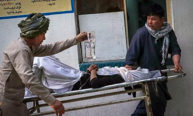 Blasts target school in west Kabul killing at least 40 people