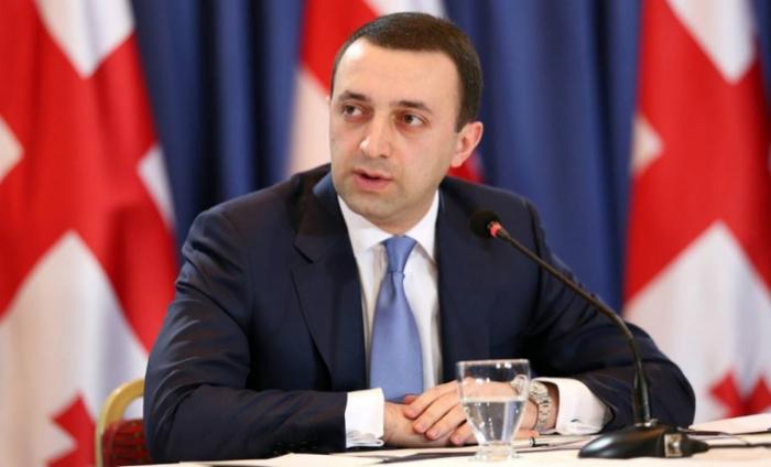 """قاريباشفيلي:   """"سنواصل المشاريع المشتركة مع اذربيجان"""""""