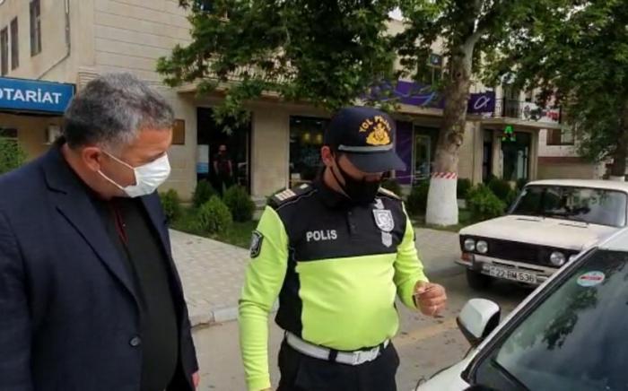 Goranboyda 15-ə yaxın sürücü məsuliyyətə cəlb edildi