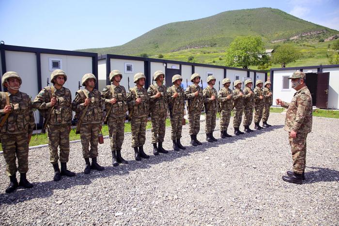 20 unités militaires mises en service dans les zones libérées azerbaïdjanaises -  PHOTOS