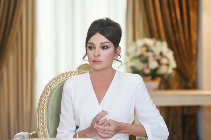 Mehriban Aliyeva shares post about