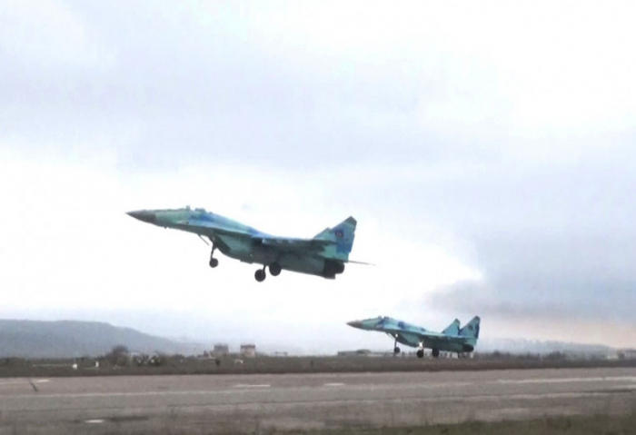 Redeployment of combat aircraft was held in the course of the exercises -   VIDEO