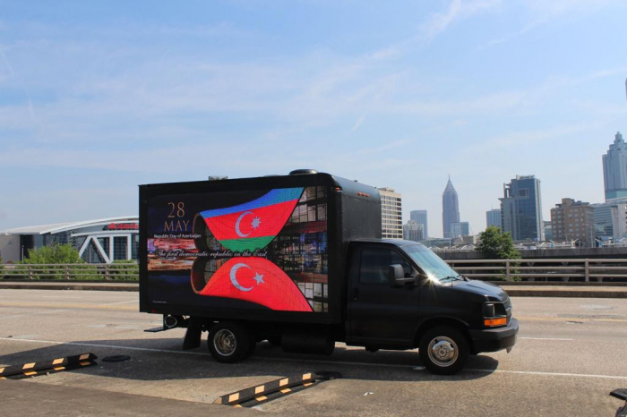 Azerbaijanis hold actions in three cities of US -  PHOTOS