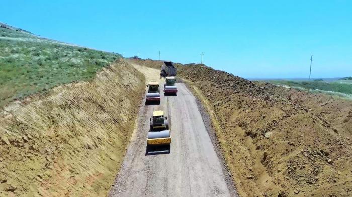 Ağstafada iki avtomobil yolu layihəsi icra olunur