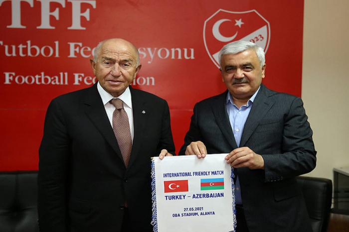 AFFA və TFF prezidentləri görüşüb