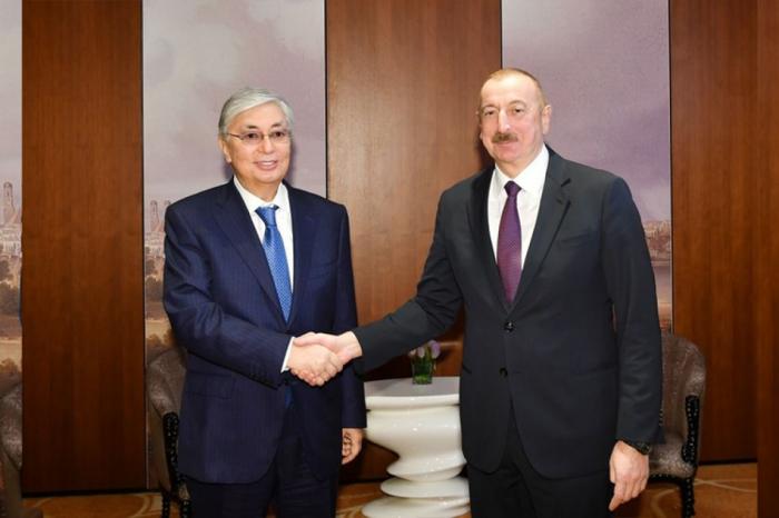 Qazaxıstan Prezidenti İlham Əliyevi təbrik etdi