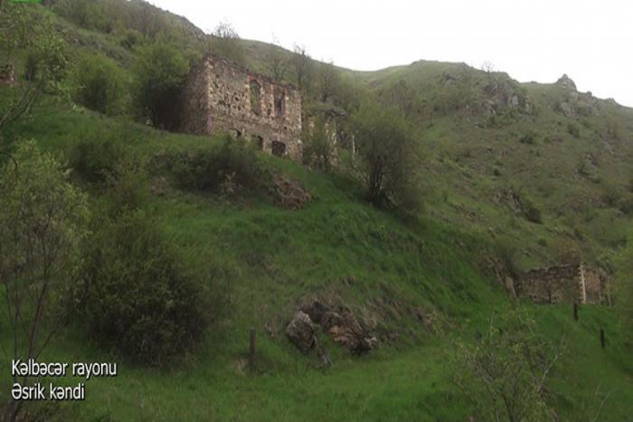 Kəlbəcərin Əsrik kəndindən görüntülər -  VİDEO