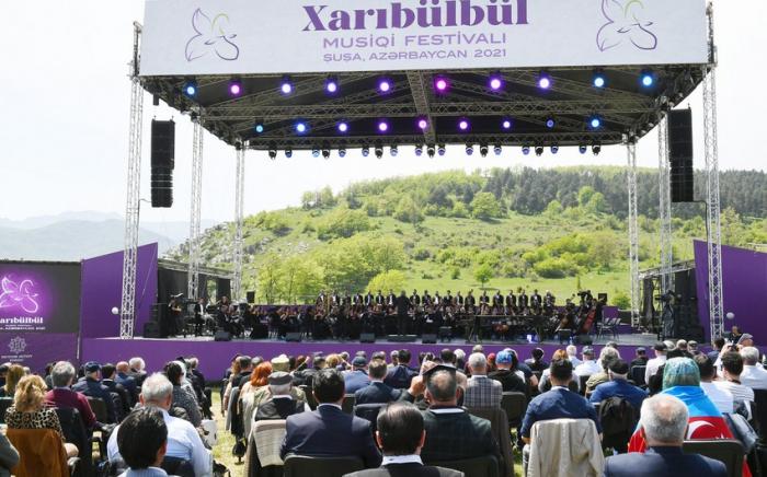 Le festival de musique de Kharybulbul a été couvert par la presse italienne