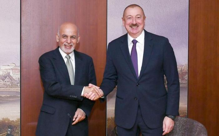 Le président Ilham Aliyev a reçu un coup de fil du président afghan